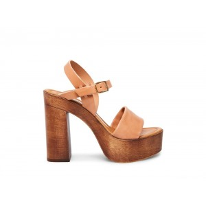 Clearance Sale - Steve Madden Women's Heels LAURISA Tan Leather