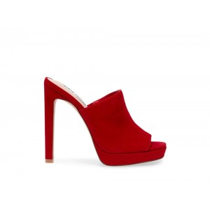 Clearance Sale - Steve Madden Women's Heels LURE Red Suede