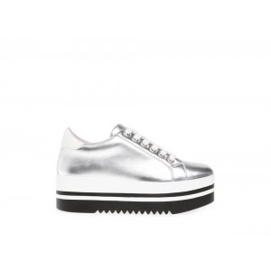 Steve Madden Women's Sneakers ALLEY SILVER
