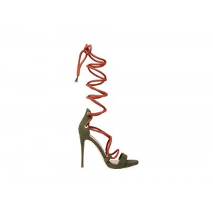 Clearance Sale - Steve Madden Women's Heels TWISTY OLIVE Multi