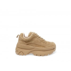 Clearance Sale - Steve Madden Women's Sneakers HANSEL Tan Suede