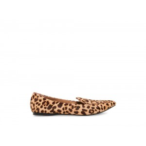 Steve Madden Women's Flats FEATHERL LEOPARD Black Friday 2020