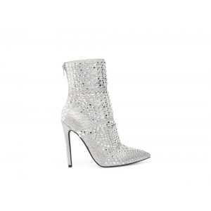 Clearance Sale - Steve Madden Women's Booties WHOLE RHINESTONES