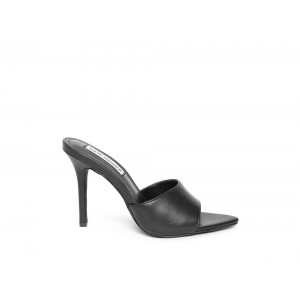 Clearance Sale - Steve Madden Women's Mules FEISTY Black Leather