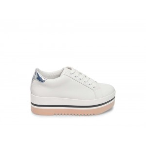 [ Black Friday 2019 ] Steve Madden Women's Sneakers ALLEY WHITE
