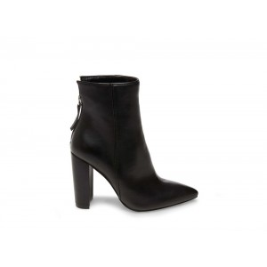 Steve Madden Women's Booties TRISTA Black Leather
