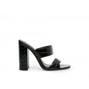 Clearance Sale - Steve Madden Women's Heels TAYA Black CROCODILE