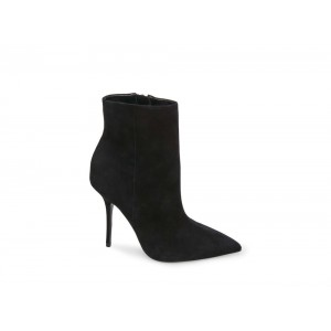 Clearance Sale - Steve Madden Women's Booties ASHTON Black NUBUCK