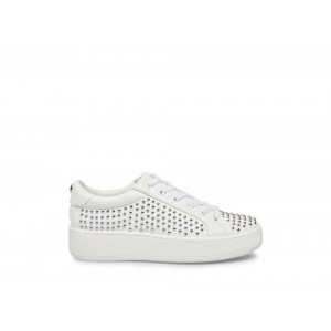 Steve Madden Women's Sneakers BADIE WHITE WITH STUDS