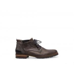 Clearance Sale - Steve Madden Men's Boots PLYMOUTH Grey Leather