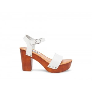 Clearance Sale - Steve Madden Women's Sandals LUNA WHITE