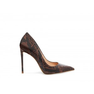 Clearance Sale - Steve Madden Women's Heels VALA Brown Snake