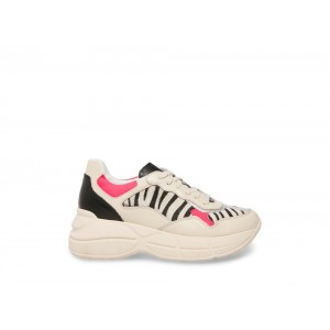 [ Black Friday 2019 ] Steve Madden Women's Sneakers MERIT ZEBRA Multi