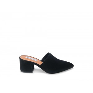 Clearance Sale - Steve Madden Women's Mules SUPERIOR Black Suede