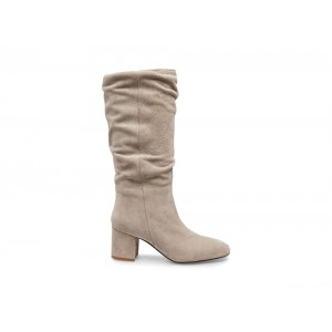 Steve Madden Women's Boots DILEMMA Taupe Suede Black Friday 2020