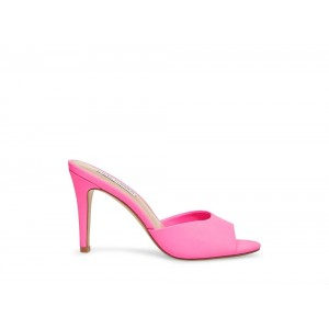 Clearance Sale - Steve Madden Women's Mules ERIN Pink Neon
