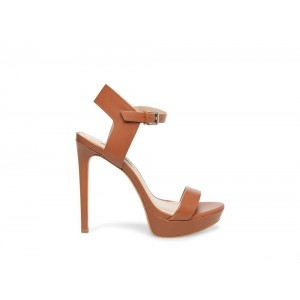 Clearance Sale - Steve Madden Women's Heels FASCINATE Cognac Leather