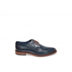 Clearance Sale - Steve Madden Men's Dress GEARY Navy Leather
