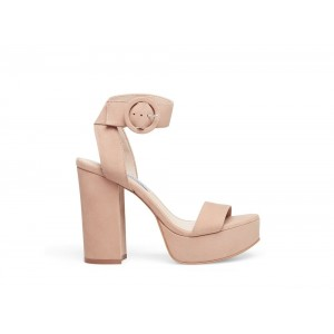 Clearance Sale - Steve Madden Women's Heels TOWER CAMEL NUBUCK