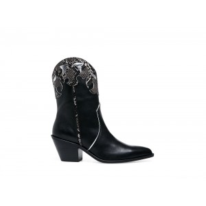 Clearance Sale - Steve Madden Women's Boots HOWDY Black Leather