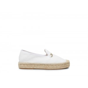 Clearance Sale - Steve Madden Women's Flats ELLAINE WHITE Leather