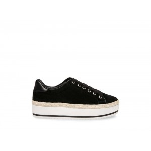 Clearance Sale - Steve Madden Women's Sneakers RULE Black Suede