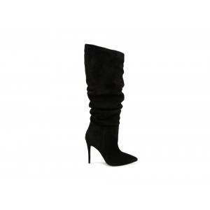 Clearance Sale - Steve Madden Women's Boots DAKOTA Black Suede