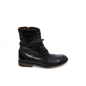 Steve Madden Men's Boots TREK Black Leather