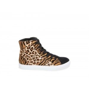 [ Black Friday 2019] Steve Madden Men's Sneakers BENGAL LEOPARD
