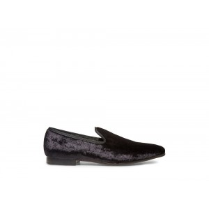 Clearance Sale - Steve Madden Men's Dress CRUSHED Black Velvet
