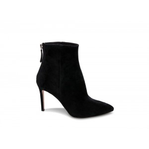 Clearance Sale - Steve Madden Women's Booties CAREY Black Suede