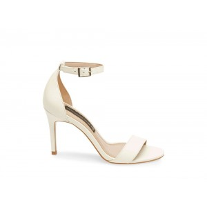 Clearance Sale - Steve Madden Women's Heels NAYLOR WHITE Leather