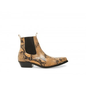 Clearance Sale - Steve Madden Men's Boots VIRGO-S Tan Snake