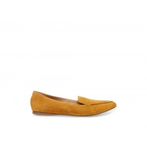 Clearance Sale - Steve Madden Women's Flats FEATHER MUSTARD Suede