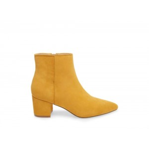 Clearance Sale - Steve Madden Women's Booties BRAVE MUSTARD Suede