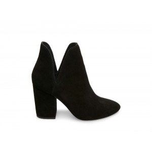 Steve Madden Women's Booties ROOKIE Black Suede
