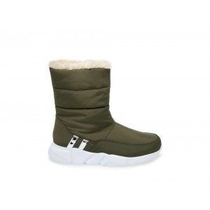Christmas Deals 2019 - Steve Madden Women's Booties SNOWDAY OLIVE