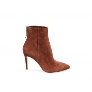 Christmas Deals 2019 - Steve Madden Women's Booties CAREY Brown Suede
