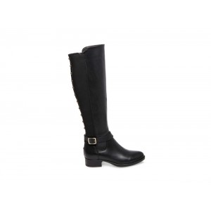 Clearance Sale - Steve Madden Women's Boots JADINE Black Leather