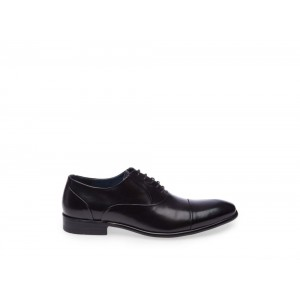 Steve Madden Men's Lace-up BYRNE Black Leather