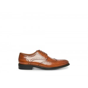 Steve Madden Men's Lace-up DRAKE Tan Leather