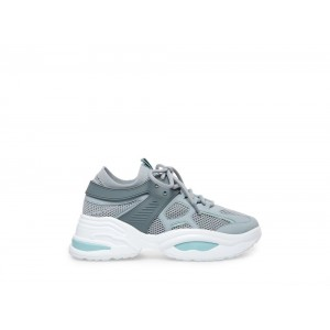 Clearance Sale - Steve Madden Women's Sneakers FONTINA Grey-BLUE