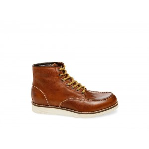 Clearance Sale - Steve Madden Men's Boots TRUMPET Cognac Leather