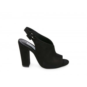 Clearance Sale - Steve Madden Women's Heels RILEY Black NUBUCK