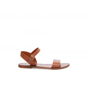 Clearance Sale - Steve Madden Women's Sandals DONDDI Tan Leather