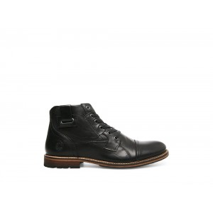 Clearance Sale - Steve Madden Men's Boots MACQUARIE Black Leather