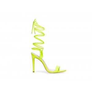 Christmas Deals 2019 - Steve Madden Women's Heels LEVEL LIME