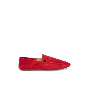 Steve Madden Women's Flats BETHANY Red Suede Black Friday 2020