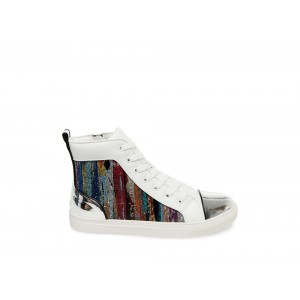 Steve Madden Men's Casual DURANGO WHITE Multi