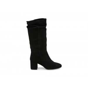 Christmas Deals 2019 - Steve Madden Women's Boots DILEMMA Black Suede